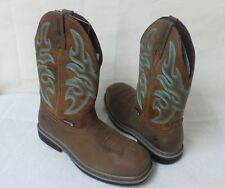 """New Wolverine Mens Roscoe 10"""" WPF Work Composite Toe Boots W10479 Taupe/Brown rt"""