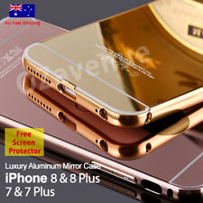 Luxury Mirror Aluminum Metal Ultra-thin Case Cover for Apple iPhone 6 6s 7 Plus