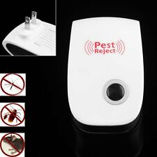 Electronic Ultrasonic Anti Mosquito Insect Mouse Pest Repellent Repeller ER