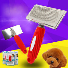 Comfortable Pet Grooming Cleaning Slicker Gilling Brush Comb Shedding Tool