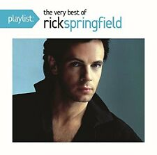 SPRINGFIELD, RICK-PLAYLIST: THE VERY BEST OF RICK SPRINGFIELD-CD  NEW