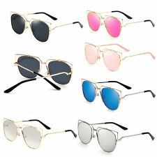 Women Heart Authen Personality Sunglasses Polarized Gray/Silver Frame lot DP