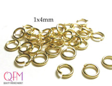 WHOLESALE Gold Filled 1/20 12K Open Jump Rings 18 Gauge 1x4mm