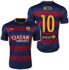 NIKE LIONEL MESSI FC BARCELONA HOME JERSEY 2015/16.