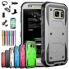 For Samsung Galaxy S7 Edge Case Silicone Bumper Gel Soft Cover TPU Rubber Skin