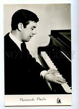 130059 Raimonds PAULS Latvian COMPOSER Old PHOTO Card