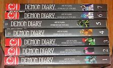 7 (1-7)  DEMON DIARY Manga BOOKS Manwha LEE YUN HEE English Language TOKYOPOP