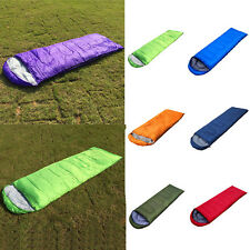 Outdoor Lightweight Hiking Camping Envelope Sleeping Bag Single Carrying Case
