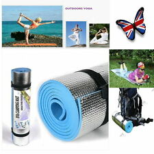Blue/Purple Thick Mat Pad &Yoga Bag for Leisure Picnic Exercise Fitness Yoga L3