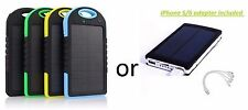 30000mAh or 12000 Dual USB Portable Solar Battery Charger Power Bank Cell Phone
