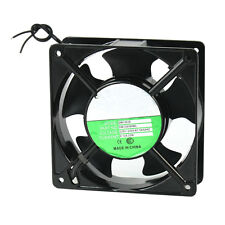 25S8 120x120x38mm 5 Blades Metal Frame Axial Flow Cooling Fan AC 220/240V 0.12A