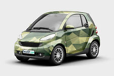 Camouflage Camo Polygonal Printed Graphic Vinyl Car Wrap Decal Sticker Abstract