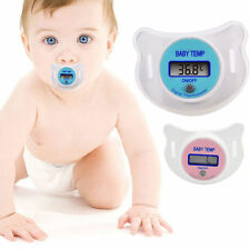Baby Safety Practical Mouth Nipple Temperature LCD Digital Pacifier Thermometer