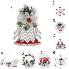 Christmas Tree Ornament Bell Wall Door Hanging Home Xmas Party Decoration Decor