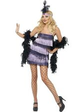 Sexy 1920s Charleston Fringe Flapper Ladies Fancy Dress Hen Party Costume Outfit