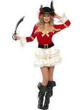 Adult Sexy Boutique Plentiful Pirate Ladies Fancy Dress Hen Party Costume Outfit