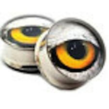 Eagle Eye Plugs / Gauges / Tunnels Double-sided Flare 316l Surgical Steel 2 Pc