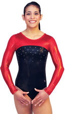 NEW!! Child Medium Horizon B Gymnastics Comp Leotard by Snowflake Designs