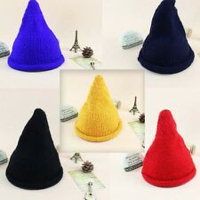 Fashion Cute Womens Girls Knit Hat Warm Winter Steeple Wool Cap Ski Beanie Hat