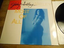 "JODY WATLEY ""MOST OF ALL / SOME KIND OF LOVER"" REMIXED USED 12"" 1988 MCA RECORDS"