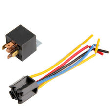 Universal Car Wiring Automotive SPDT Relay 5 Pin Sockets 5 Wire 20A/30A lot DP