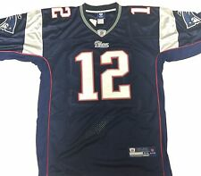 NEW ENGLAND PATRIOTS #12 TOM BRADY NWT AUTHENTIC OFFICIAL NFL FOOTBALL JERSEY