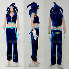New Vocaloid Hatsune Miku Sonic Cosplay Outfit Costume Halloween