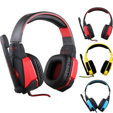 EACH G4000 PC Gaming Stereo Headset Headphone with Volume Control Microphone