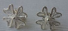 NEW 925 Sterling Silver Filigree Hand Crafted Maltese Cross Earrings from Malta