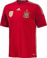 2014 World Cup Spain Soccer Jersey Football Jersey Home/Away AUTHENTIC