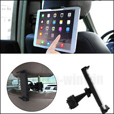 "Car Back Seat Headrest Mount Holder Stand For Apple iPad 7-10"" Tablet Universal"