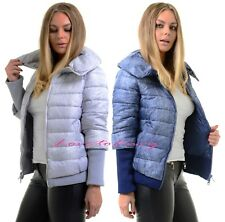 Ladies Womens Puffer Bubble Quilted Winter Warm Padded Jacket Zip Up Thick Coat.