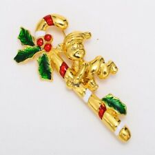 Unqiue Gorgeous Enamel Christmas Brooch Pins Xmas Decoration