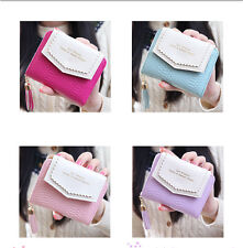 NEW Sweet Womens Ladies Girls Bifold Purse Lovely ID Wallet Clutch PU Leather