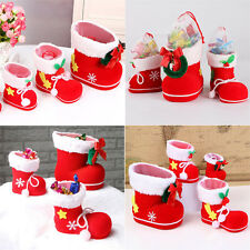 Candy Shoes Lovely Xmas Santa Christmas Tree Decoration Hanging Gift Children
