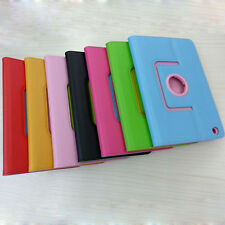 360 Degree Rotating Stand PU Leather Case Cover For iPad Mini