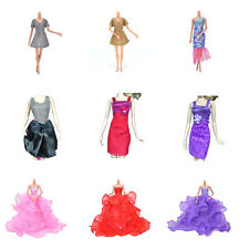 New Fashion Handmade Clothes Dress For Barbie Doll Different Style Beauty