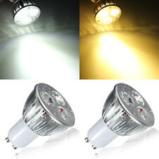 GU10 9W White/Warm White 3LED Spot light Bulb LED Lamp Light AC85-265V
