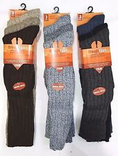 12 Pairs Mens Wool Long Socks Warm Long Socks Winter Wool Socks Size UK 6-11