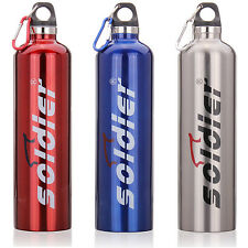 Outdoor Bicycle Stainless Steel Water Bottle Thermal Bottle 750ml