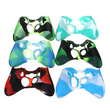 Replacement Camouflage Silicone Skin Cover Case for Xbox360 Controller
