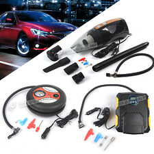 12V CAR ELECTRIC MINI COMPACT COMPRESSOR PUMP BIKE TYRE AIR INFLATOR 260PSI NEW