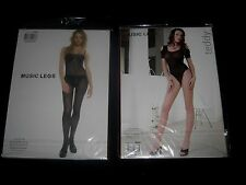 Music Legs Sheer Lace Teddy Or BodyStocking ~
