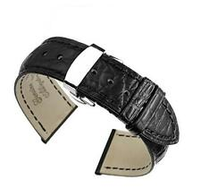 Luxury Watch Straps/Bands Replacement Genuine Crocodile Alligator Skin Leather