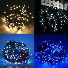 30M 300LED Christmas Fairy String Lights 8-Changing Modes Outdoor Xmas Light UK