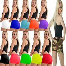 New Ladies Girls Microfiber Shorts High Boxers Pants Underwear Hot SEXY Knickers