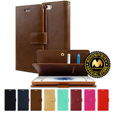 GOOSPERY® Mansoor Diary PU Leather Wallet Case Cover For Apple iPhone 5 5S SE