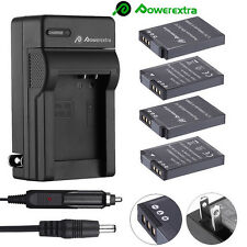 EN-EL12 Battery / Charger For Nikon Coolpix AW100 AW110 S710 S6000 S6300 S8200