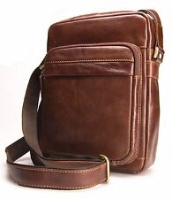 Visconti Vintage Leather Messenger Cross Body Shoulder Bag Travel CRUZ VT1