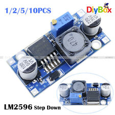 1/2/5/10PC DC-DC Converter Step Down Module LM2596 Power Supply Output 1.25V-35V